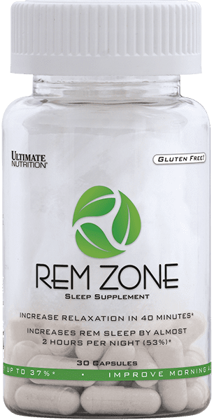 REM Zone, by Ultimate Nutrition - For the best sleep possible