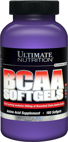 BCAA Softgels by Ultimate Nutrition