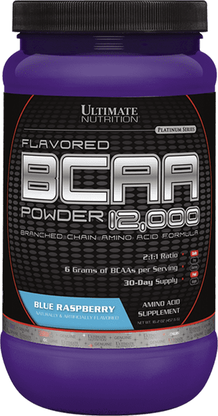 Flavored BCAA 12,000 Powder