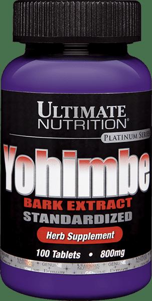 Yohimbe Bark Extract Supplement