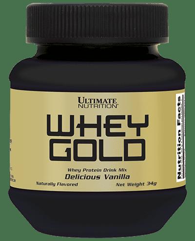 Whey Gold 34g Single-serving Bottle