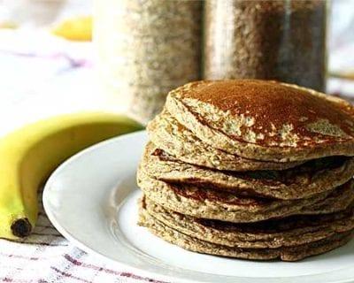 Prostar Banana Protein Pancakes